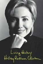 Living History by Hillary Rodham Clinton (2003, Hardcover)