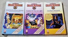 Lot 3 The World of TEDDY RUXPIN Vhs Videos HI-TOPS VIDEO 1987 WOW Grubby Newton