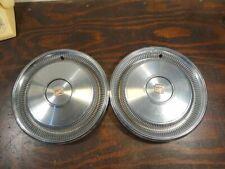 2  1970 Cadillac Fleetwood Deville Wheel Covers Hubcaps Hub Caps S248