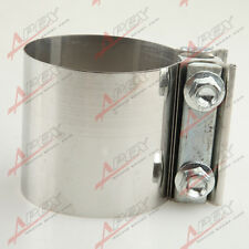 "2.25"" Stainless steel Exhaust Flat Band Clamp  /Clamps"