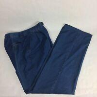 Ermenegildo Zegna Casual Pants Trousers Size 52 L - 42 US L Denim Blue Jeans
