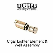 1956 - 1970 Ford Cigar Lighter Element & Well Assembly