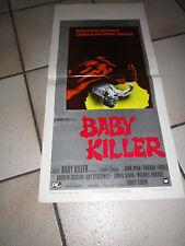 locandina  BABY KILLER LARRY COHEN JOHN RYAN SHARON FARRELL