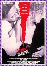 Tarjeta postal Cartel de Película - ATRACCIÓN FATAL
