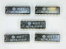 """HD74LS161P  """"Original"""" Hitachi  16P DIP IC  5  pcs"""