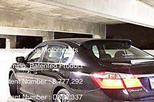 Speedzone Rear Roof Visor With Brackets Accord 4dr 2013 2014 2015 2016 (Round)