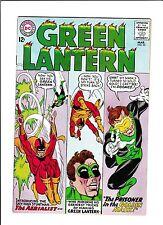 """GREEN LANTERN #35  [1965 VF-NM]  """"THE PRISONER IN THE GOLDEN MASK!"""""""