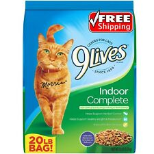 Great Value 9Lives Large 20 lb Complete Balanced Dry Cat Food
