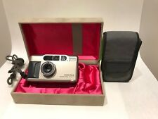 NEAR MINT in Box!!! Contax T2D  Point & Shoot Film Camera from Japan#180920