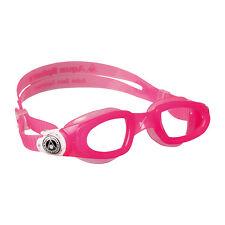 AQUA SPHERE Moby Kid Schwimmbrille Einsteiger Kinder pink (Girl Kids Mädchen)