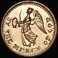 More details for by the mercy of god 'june 21 vittoria 1813' medal | brass | medals | km coins