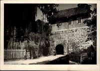 BÜRGEL Thalbürgel Thüringen DDR AK Gebäude Ansicht ca. 60er Jahre Postkarte