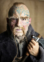 """""""Viking Jarl""""  Silicone Mask High Quality, Unique Active Realistic Halloween"""