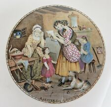 Pot lid. 'A Letter from the Diggings' No. 360