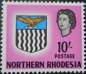 North Rhodesia 1963 Ten Shillings SG 87 u/mint