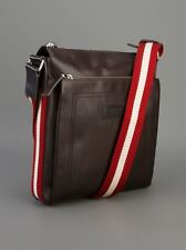 BALLY TUSTON MEN'S MESSENGER SHOULDER BAG TUSTON-SM-261
