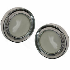 GM Models Interior Quarter Sail Dome Light Ear Muff Board Lamp BEZEL & LENS PAIR