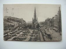 Edinburgh -- Princes Street.   (1918 - Valentines)