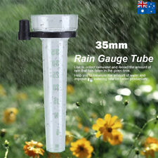 35MM Outdoor Garden Weather Station Meteorological Measure Tool Rain Water Gauge