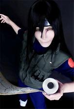 NARUTO Orochimaru cosplay wig 80cm black wig+wig cap