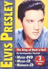 Elvis Presley - The King of Rock'n'Roll DVD + CD + Hörbuch