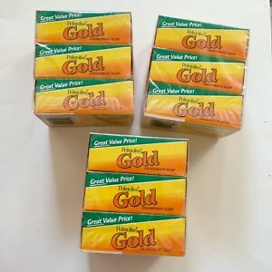 6 Palmolive Gold Deodorant Bar Soap 4 oz each Total 24 oz New Sealed