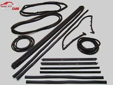 1987-95 Jeep Wrangler (YJ) Seal and Weatherstrip 13 Piece Kit