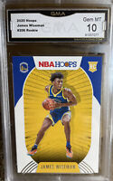 2020 Panini NBA Hoops James Wiseman ROOKIE Card Gem MINT 10 #205 Warriors
