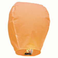 Sky Lantern - Chinese Paper Wishing Candle - Pack of 20 Orange