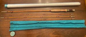 Vintage Amherst Fly Rod Co. Bamboo / Cane Fly Fishing Rod FRANK VINING SMITH