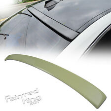 Painted For BMW 5-Series F10 A-Type Rear Roof Spoiler Wing ABS 550i