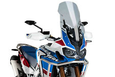 PUIG BULLE TOURING-SUPPORT HONDA AFRICA TWIN ADVENTURE SPORTS 18 FUME CLAIR