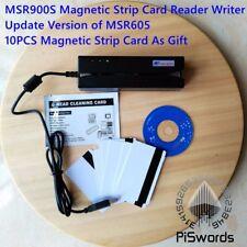 Msr900s update version of Msr900 msr605 Magnetic Strip Card Reader Writer 3-Trac