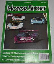 May Motorsport Sports Magazines