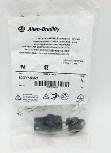 Allen-Bradley 800FP-KM21 Key Maintained Selector Switch