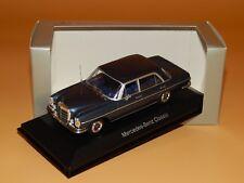 Mercedes-Benz 300 SEL Blau met.(W108) 1968 Dealer-Box / Minichamps 1/43 OVP