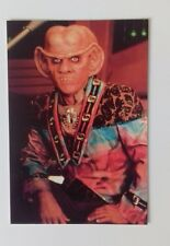 "STAR TREK - Quark Deep Space Nine 6""X4"" Postcard Lot 8 Star Trek Portrait Pic"