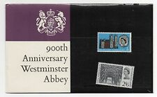 GB 1966 Westminster Abbey Presentation Pack stamps PP10 VGC