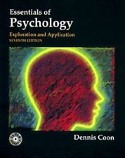 Essentials of Psychology: Exploration and Application-ExLibrary