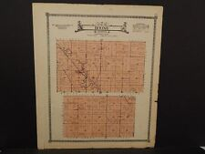 Nebraska Boone County Map Boone Township  c.1918  J14#47
