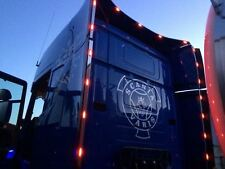 To Fit 09+ Scania P G R 6 Series Highline Steel Perimeter Wind Kit Strips + LEDs