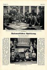 Spielwarenmesse Paris Neue automatische Spielwaren Mechanisches Spielzeug 1901