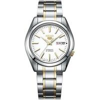 Seiko SNKL47J1 Series 5 35MM Men's Two-Tone Stainless Steel Watch