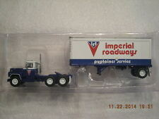 60-0265 Mack Imperial Roadways R Model Tractor Trailer New In Box