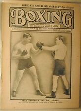 1911 Boxing London Newspaper-Fred Storbeck vs P.O. Curran