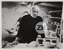 PABLO PICASSO Poterie Céramique Atelier Vallauris Photo 1957