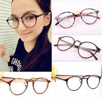 Women Cute Designer Retro Frame Clear Lens Glasses Nerd Geek Eyeglass Eyewear