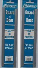 """4 Car Door Edge Protector Strip 4 x 12"""" Door Protector Silver Silver-Grey"""