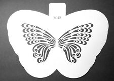 Butterfly Art Airbrush Cake Template Painting Stencils DIY Decorating Plastic