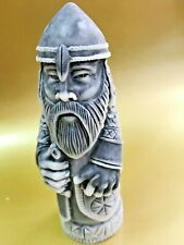 Perun Slavic Pagan god figurine  marble chips Russia God of thunder 3,15 inches